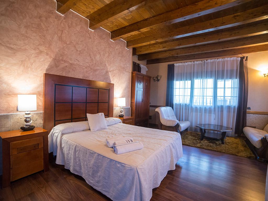 Junior Suite Hostal Rural Spa Las Vistas Pastrana